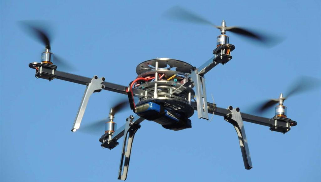 Utilizzo di un drone in campo peritale