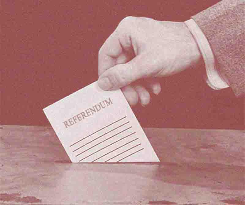 """Risultati del Referendum sul progetto di """" Liquidazione danni con riparazione in forma specifica"""""""